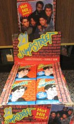 21 jump street johnny depp trading cards