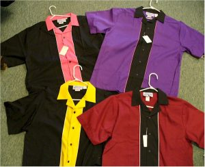 1950s outfits lounge bowling shirts