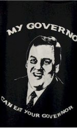 My governor can eat your governor Chris Christie t-shirt