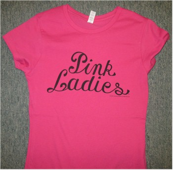 Grease Pink Ladies t-shirt - Backward Glances