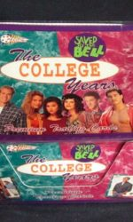 saved by the bell the college years trading cards