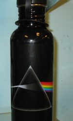 pink floyd dark side of the moon water bottle