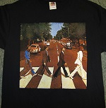 beatles abbey road retro tees