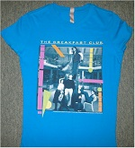 Retro tees TV movie breakfast club t-shirt