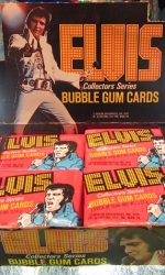 Elvis Presely trading cards