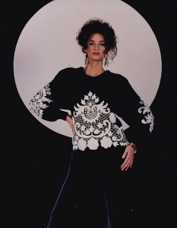 Bonnie Boerer sweaters lace and sequin sweaters