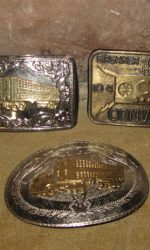 trucker belt buckle convoy