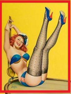 pin up girl shoes