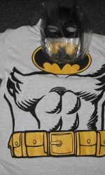 Batman mask batman cape batman tshirt
