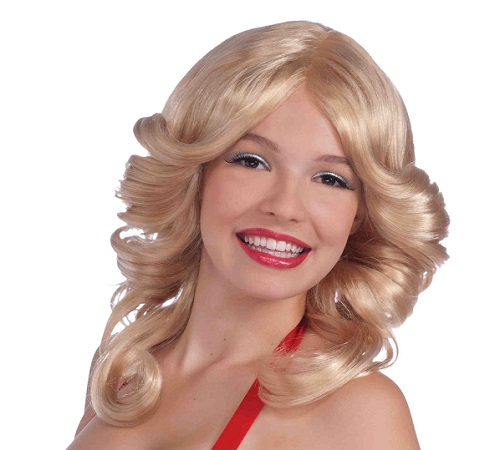 Farrah Fawcett wig