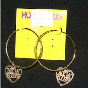 new kids on the block hoops earrings