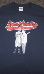 abbott and costello whos on first t-shirt