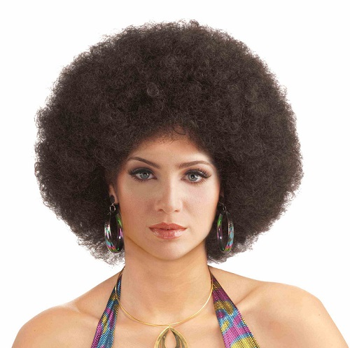 brown afro wigs
