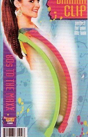 1980s banana clips