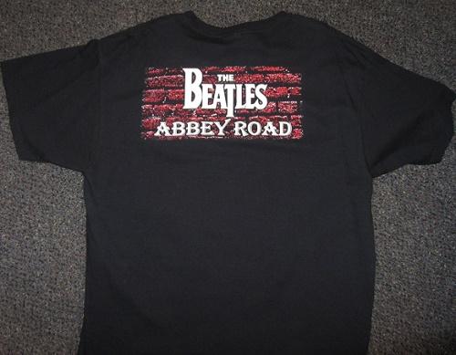 Beatles abbey road t-shirtback