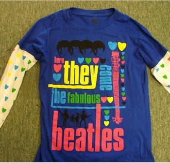 Here they come the fabulous Beatles t-shirt