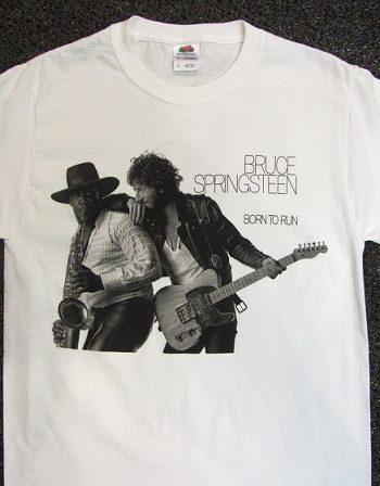 bruce springsteen born to run t-shirt