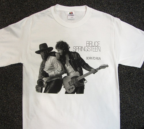 bruce springsteen born to run t-shirt