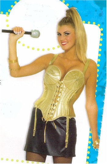 Madonna bullet bra bustier  sc 1 st  Backward Glances : madonna bra costume  - Germanpascual.Com