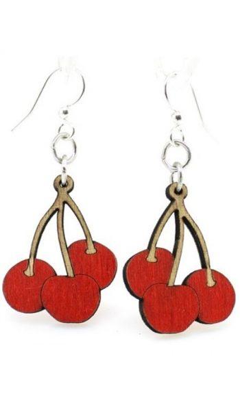 Cherry earrings wod
