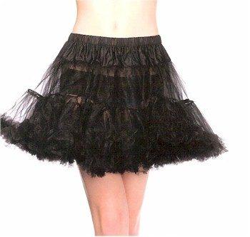 black chiffon petticoat skirt tutu skirt