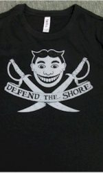 defend the shore jersey shore t-shirt
