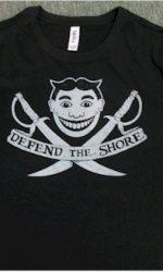 defend the shore jersey shore t-shirt