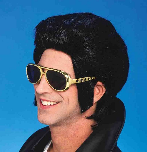 Elvis hair-do Elvis wig