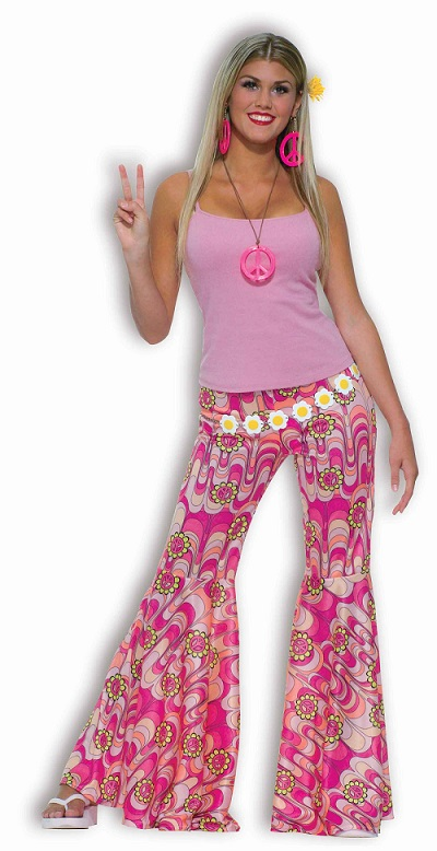 flower power bellbottoms