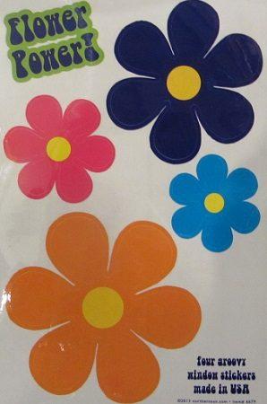 flower power stickers