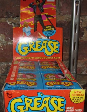 grease movie trading cards