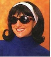 Jackie O flip wig