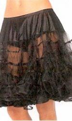 black crinoline slip crinoline skirt