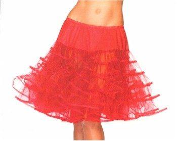 red crinoline slip crinoline skirt