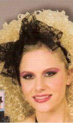 Madonna black lace scarf
