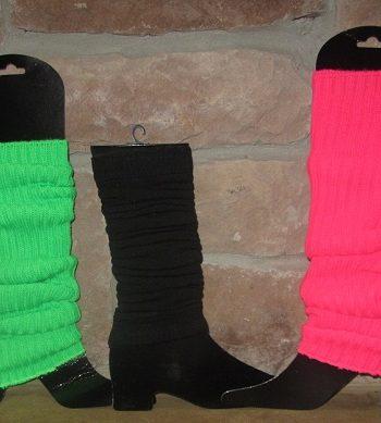 1980s style leg warmers