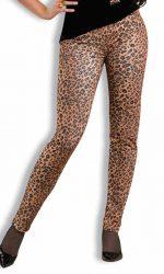 1980s leopard pants