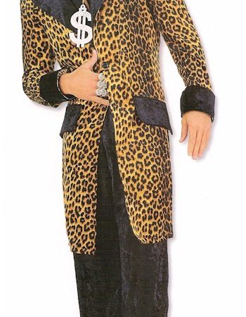 leopard jacket and pants pimp suit