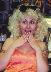 1980s Madonna wig