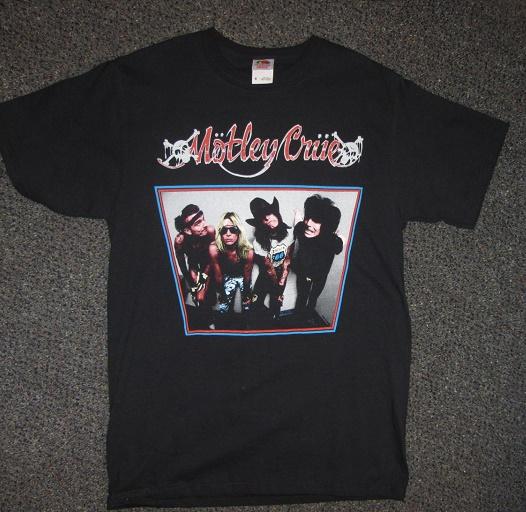 motley crue t-shirt