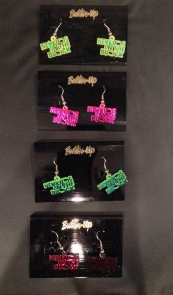 New Kids on the block earrings NKOTB jewelry
