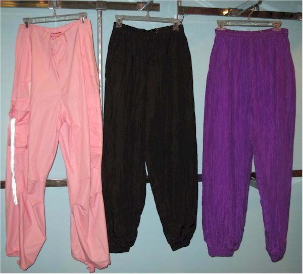 parachute pants original 1980s parachute pants 80s pants