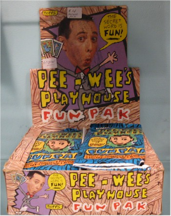 pee-wee herman show Pee-wee's playhouse fun pak