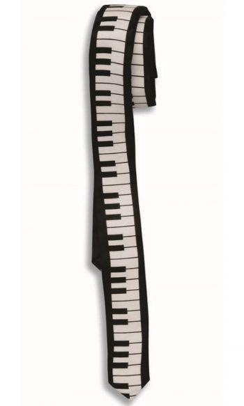80s thin tie Piano tie