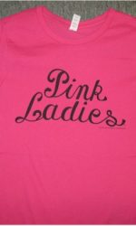 Grease Pink ladies t-shirt