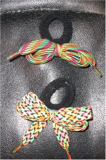 1980s neon ponytail holders