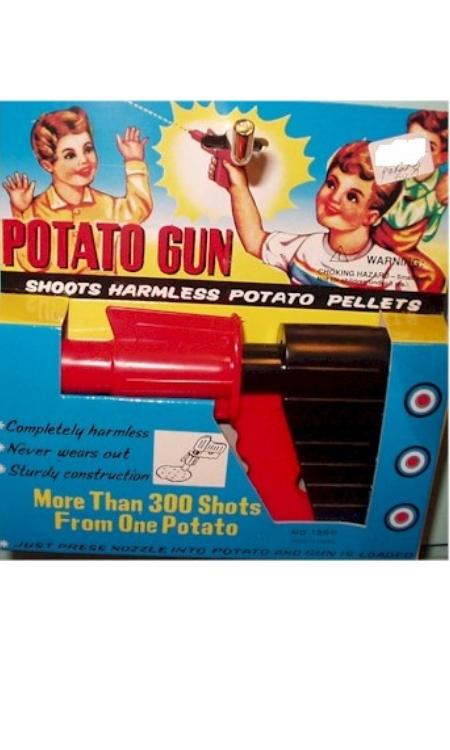 potato gun retro toy