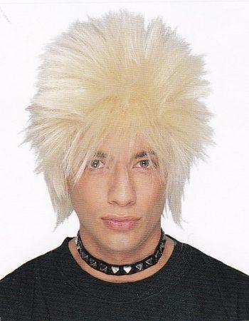 1980s punk wig blonde