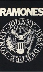 the ramones logo t-shirt baby doll tee