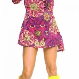 psychedelic sixties minidress
